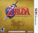 The Legend of Zelda Ocarina of Time 3D Box