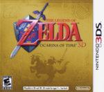 The Legend of Zelda Ocarina of Time 3D Box