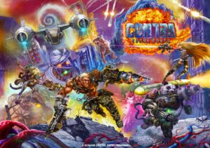 Contra Rogue Corps - Horizontal Reversible Cover Art