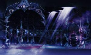 Kid Icarus - Dark Lord Gaol's Castle Concept Art