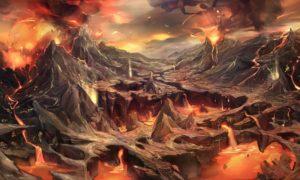Kid Icarus - Phoenix Mountain Concept Art
