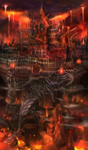 Kid Icarus - Underworld Castle Concept Art