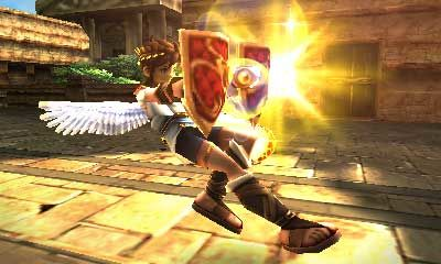 Kid Icarus Uprising Shields