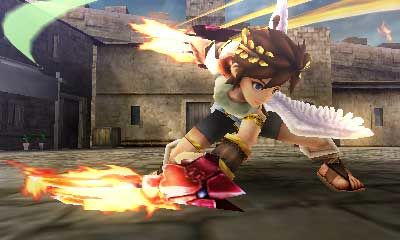 Kid Icarus Uprising charge