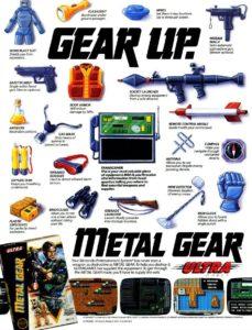 Metal Gear Advertisement