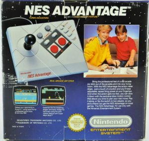 NES Advantage Box Back