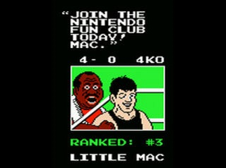 Nintendo Fun Club - Punch Out!!