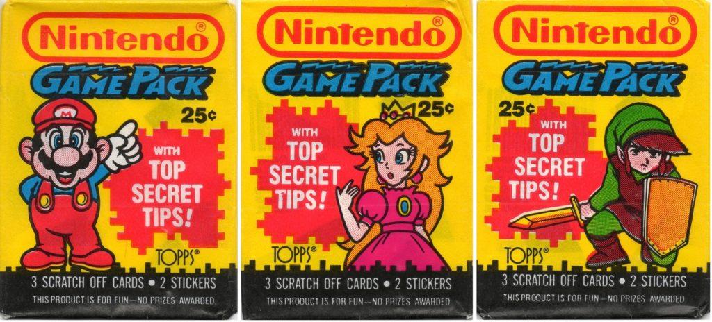 Nintendo Game Pack Card Packs