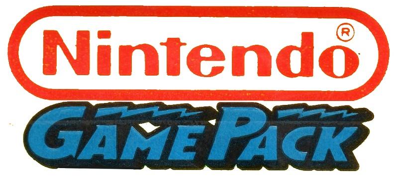 Nintendo Game Pack Logo