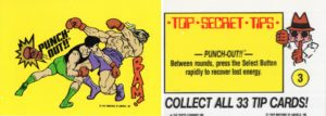 Nintendo Game Pack Sticker Top Secret Tips Card