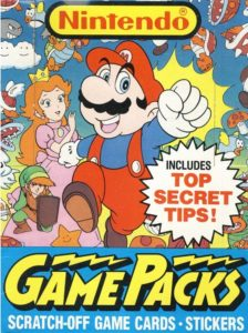 Nintendo Game Packs Box