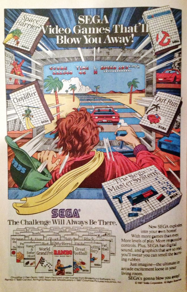 Sega Master System Advertisement