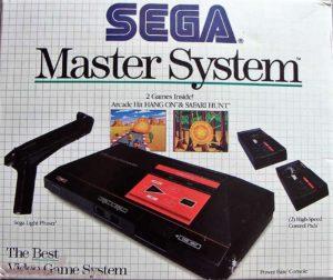 Sega Master System Box Back 2