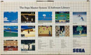 Sega Master System II Box Back