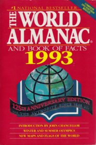 The World Almanac and Book of Facts 1993
