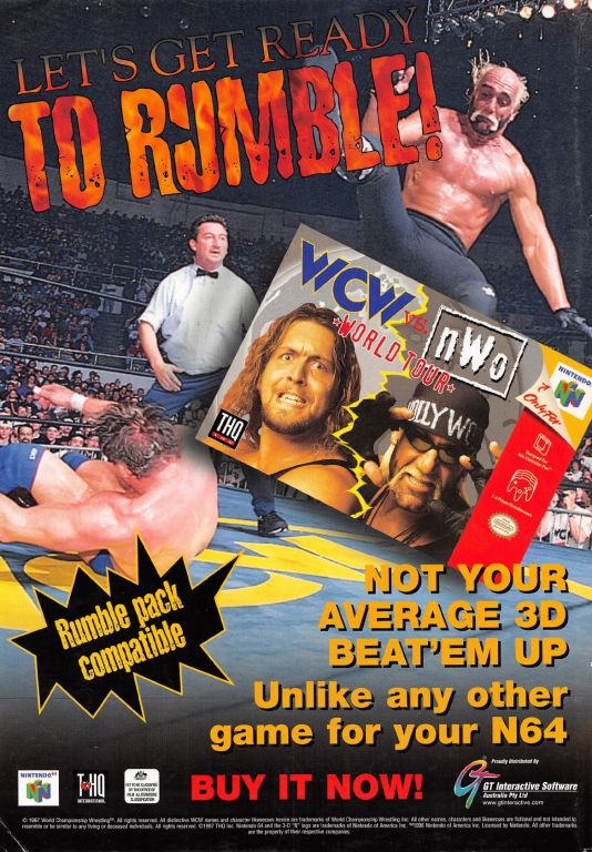 WCW vs nWo World Tour Advertisement 2