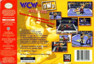 WCW vs nWo World Tour Box Back