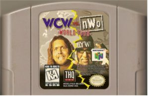 WCW vs nWo World Tour Cartridge