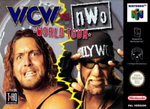 WCW vs nWo World Tour European Box