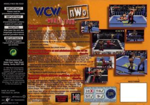 WCW vs nWo World Tour European Box Back