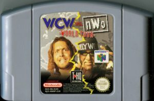 WCW vs nWo World Tour European Cartridge