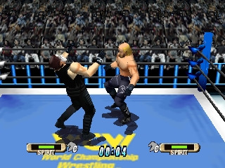 WCW vs nWo World Tour Hogan vs Sting