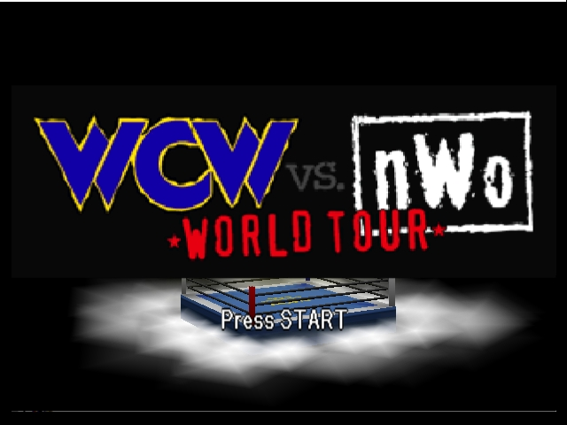 WCW vs nWo World Tour Title Screen