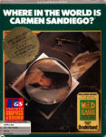 Where in the World is Carmen Sandiego Apple II Box