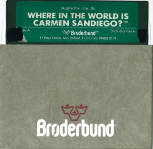 Where in the World is Carmen Sandiego Apple II Disk
