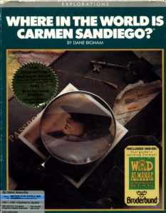 Where in the World is Carmen Sandiego DOS Box