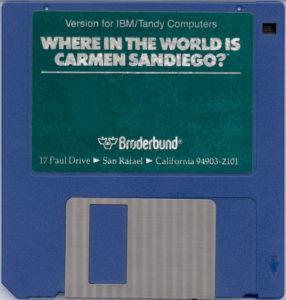 Where in the World is Carmen Sandiego DOS Disk
