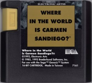 Where in the World is Carmen Sandiego Genesis Cartridge