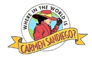 Where in the World is Carmen Sandiego Logo