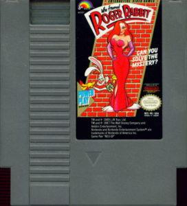 Who Framed Roger Rabbit Cartridge