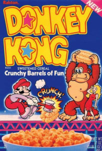 Donkey Kong Cereal Box 2