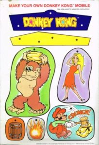 Donkey Kong Cereal Box Back 2