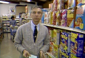 Donkey Kong Cereal Featured on Mr. Rogers