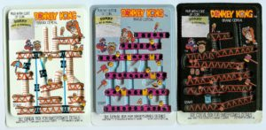 Donkey Kong Cereal Rub-off Cards
