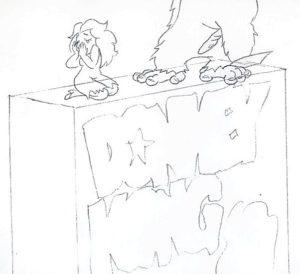 Donkey Kong Cereal Sketch 1