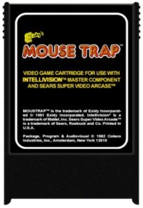 Mouse Trap IntelliVision Cartridge