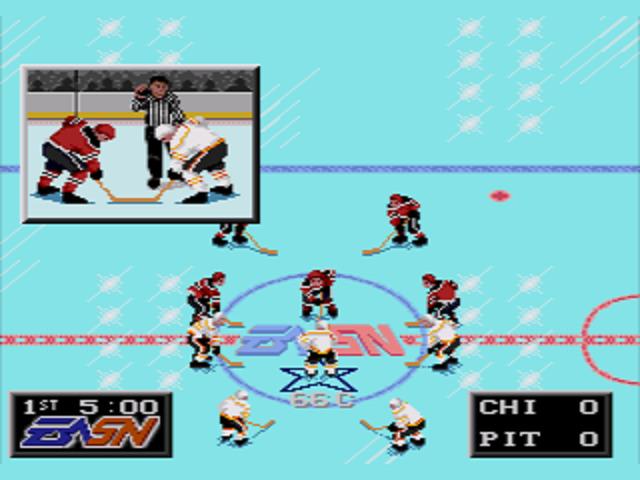 NHLPA Hockey '93 Faceoff