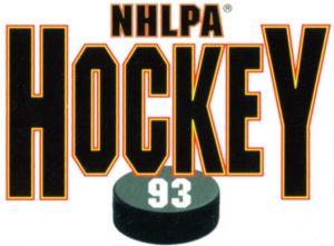NHLPA Hockey '93 Logo