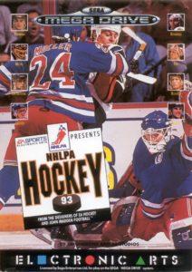 NHLPA Hockey '93 Mega Drive Box