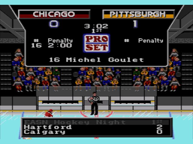 NHLPA Hockey '93 Penalty