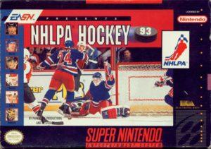 NHLPA Hockey '93 SNES Box