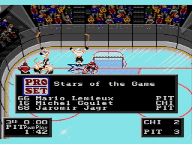 NHLPA Hockey '93 Three Stars