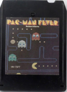 Pac-Man Fever 8-Track Front
