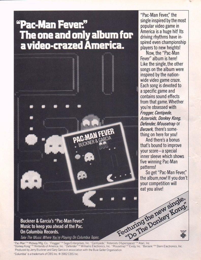 Pac-Man Fever Advertisement
