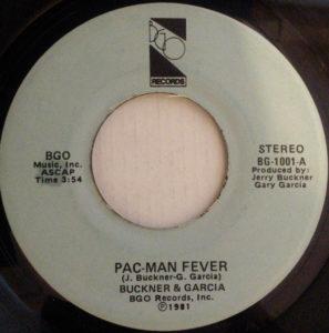 Pac-Man Fever BGO Records Single