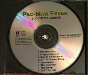 Pac-Man Fever CD Disc